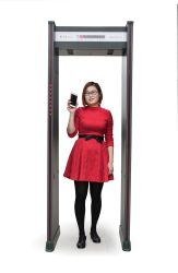 2017 Best Seller Walk Through Door Frame Archway Metal Detector Gate