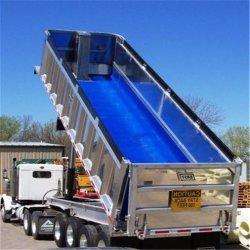 De blauwe PE van het Polyethyleen van de Kleur Plastic Voering van het Bed van de Vrachtwagen van de Stortplaats Binnen