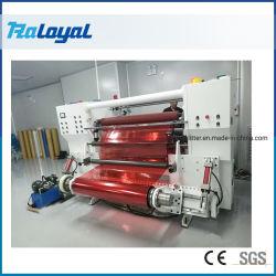 Duplex de alta velocidade Shaft-Less Cortador, corte longitudinal rebobinando a máquina de papel, etiqueta autocolante, Etiquetas
