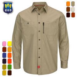 OEMの監視機密保護の高品質作業ワイシャツ作業衣類