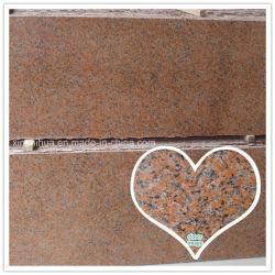 G562 des matériaux de construction en pierre gros en Chine Maple Dalles de granit rouge tuile///les escaliers et le revêtement de façade