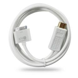 30-контактный разъем док-станции к разъему HDMI 1080P кабель с адаптером для iPhone/iPad/iPod