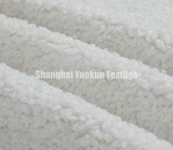 بنية قماش Fur الصناعية مع قماش الجلد السويدي المتعدد البوليستر القماش