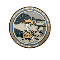 Personifiziertes Custom Logo Washable Rubber PVC Patch für Back Packs Jackets Hats