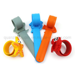 OEM Silicone Starfish Dolphin بات Kids Toy Watch
