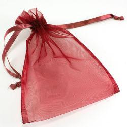 Prime en faveur des sacs-cadeaux de mariage Organza pochette de bijoux
