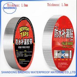 Cinta de aluminio de 1,2 mm de butilo autoadhesivo para techos