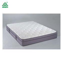 Lavable a máquina Hotel protector de colchón de color blanco de material 100% algodón
