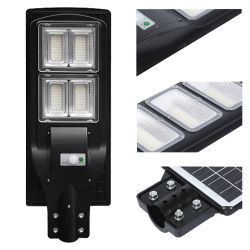 2020 alto lúmen impermeável IP66 120W solar integrada Rua LED Lâmpada de Luz Decoração de luzes de rua de iluminação economizadora de energia do sistema de alimentação Home luz portátil