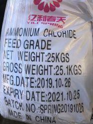 El cloruro de amonio para piensos con el 99,5% de pureza