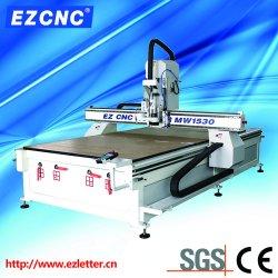 Ezletter Ce aprobó el patrón de plástico personalizadas de corte CNC Máquina con Eye-Cut (MW1530)