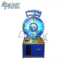 동전은 영상 룰렛 게임 기계 큰 회전 게임 기계 구속 아케이드 기계를 운영했다