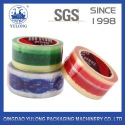 Transparente/borrar/Color BOPP cintas de embalaje