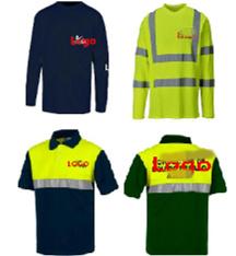 Classe de alta visibilidade2 Segurança reflexivo camiseta