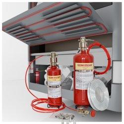Pri-Safety indirectamente Sistema de supresión de incendios automático para el vehículo con certificado CE