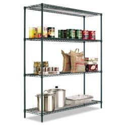 4 niveaux de confort réglable sur le fil d'étagères métalliques Restaurant de style Catering Quipment de stockage