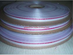 Герметично закрывайте пакет HDPE герметизирующую ленту с красной линии для BOPP мешок для головки блока цилиндров