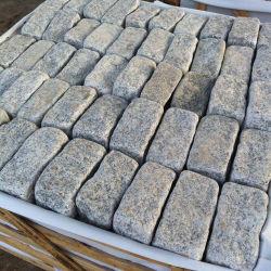 Split naturel G603/G654/G682/G664/gris/blanc/noir/beige/Jaune/Rouge pavés de granit pour l'allée pavée