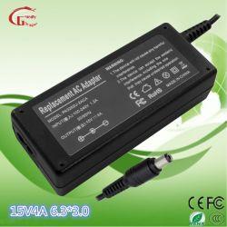 Cargador de batería portátil original fuente de alimentación portátil Toshiba 15V 4A 65W 6.3*3,0 mm