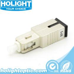 attenuatore della fibra dello Sc 9dB - perdita di ritorno 55dB di Upc o maggior