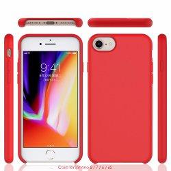 Высшее качество силиконовый чехол для iPhone 6/7/8/6s жидкости резиновый мягкий чехол