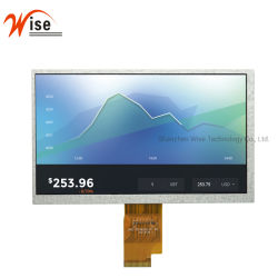 7.0'' 1024 personnalisé (RVB) X600 Affichage TFT LCD 40broche Interface LVDS Panneau d'affichage 7.0'' TFT LCD module module IPS