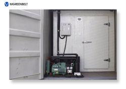 camminata del contenitore della costruzione prefabbricata di 20FT nella stanza di conservazione frigorifera