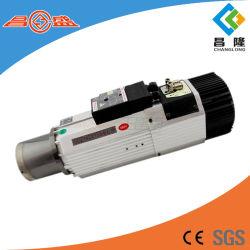 Bt30 de 9kw/ISO30 CNC de metal de refrigeración de aire del motor de husillo de ATC