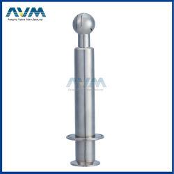 """"""" Sfera rotativa dello spruzzo della saldatura igienica dell'acciaio inossidabile di SS304 G1/2"""