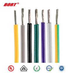 UL1330 Cable de caucho de silicona resistente al calor de la casa aislado con PVC eléctrico cableado
