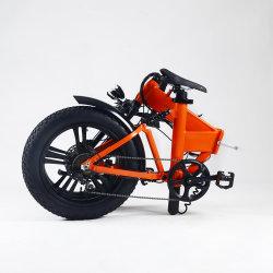 Nuovo grasso della batteria nascosto di disegno 21ahalloy doppio Litio-Ione bici elettrica della bicicletta da 20 pollici