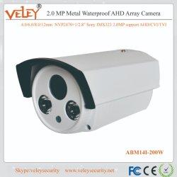Sony HD Imx323 Analógico/Ahd 2.0MP/CVI/Tvi Array Câmera de vigilância de infravermelho