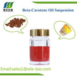 Additivo alimentare organico della sospensione 30% dell'olio del beta-carotene di alta qualità