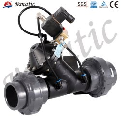 Industrial Water Treatment Equipment를 위한 Jkmatic High Quality1inch-4inch Material PP/PA/Noryl /Hydrodynamic/Pneumatic/Water Control 또는 Solenoid Diaphragm Valve
