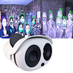 Menselijk lichaam temperatuur warmtebeeldcamera Auto Alarm Fever Screening Systeem lichaamstemperatuur Real-time opname abnormaal beeld SK-620