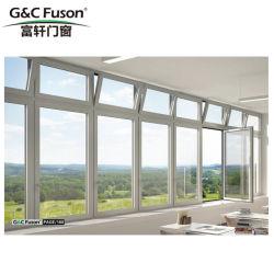 G&C Fuson mais forte estrutura de alumínio fixa com janela de impedir o roubo de vidro temperado