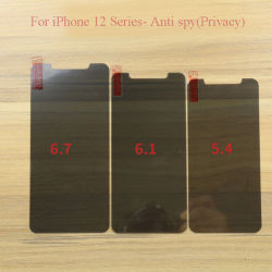 Protetor de Tela de privacidade de vidro temperado Anti Spy para iPhone 12/iPhone 12 Max/iPhone 12 PRO/iPhone 12 PRO Max