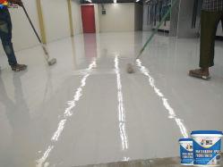 Aplique uma camada intermediária de epóxi Areia Pintura de piso epóxi de camada de celulose
