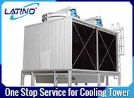 Chi-Zivilabkühlung Soem-Liang kombinierte Wasser-kalter geschlossener Gegenfluss-Kühlturm