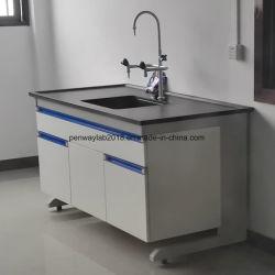 Experimento de Laboratório de Biologia da escola de mobiliário de mesa com gaveta