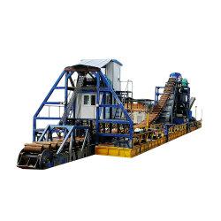 150m3/시 버킷 체인 골드 디거/준설 선박/준설 판매 남아메리카
