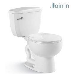 Санитарные продовольственный ванная комната керамические из двух частей Siphonic туалет туалет (JY2002)