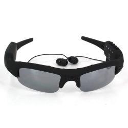 DV portátil MP3 Video Fotografía de Moda Gafas de sol Deportes Gafas Cámara RT-307A
