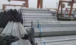 Buen precio ronda/Cuadrado Rectángulo/ blanco y negro y acero galvanizado de acero al carbono templado tubo para materiales de construcción