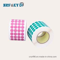 Rolo personalizado PVC impresso/PP/PET/auto-adesiva impermeável//frágil de Vinil Adesivo de embalagens de papel/Etiquetas para vestuário/capa/Fabric