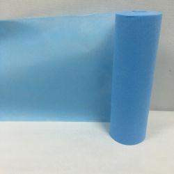 100%Polypropylene Spunbond 짠것이 아닌 의학 침대 시트