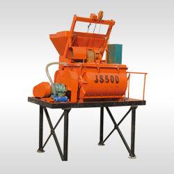Mélangeur de béton de haute qualité de la machine mélangeuse JS500 JS750 Mélangeur de mortier de béton prêt