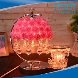 2018 Novo estilo de lâmpada perfumados com Rose e loja de aromaterapia Luzes de Cristal