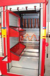 Caminhão de incêndio Palete Vertical /Veículos Especiais Tabuleiro/Bandeja deslizante