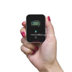 Le monoxyde de carbone de fantaisie personnels fonctionnant sur batterie d'alarme avec affichage de la valeur max.